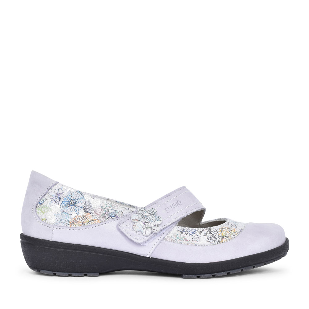 JOY FLORAL MARY JANE SHOE FOR LADIES in MULTI-COLOUR