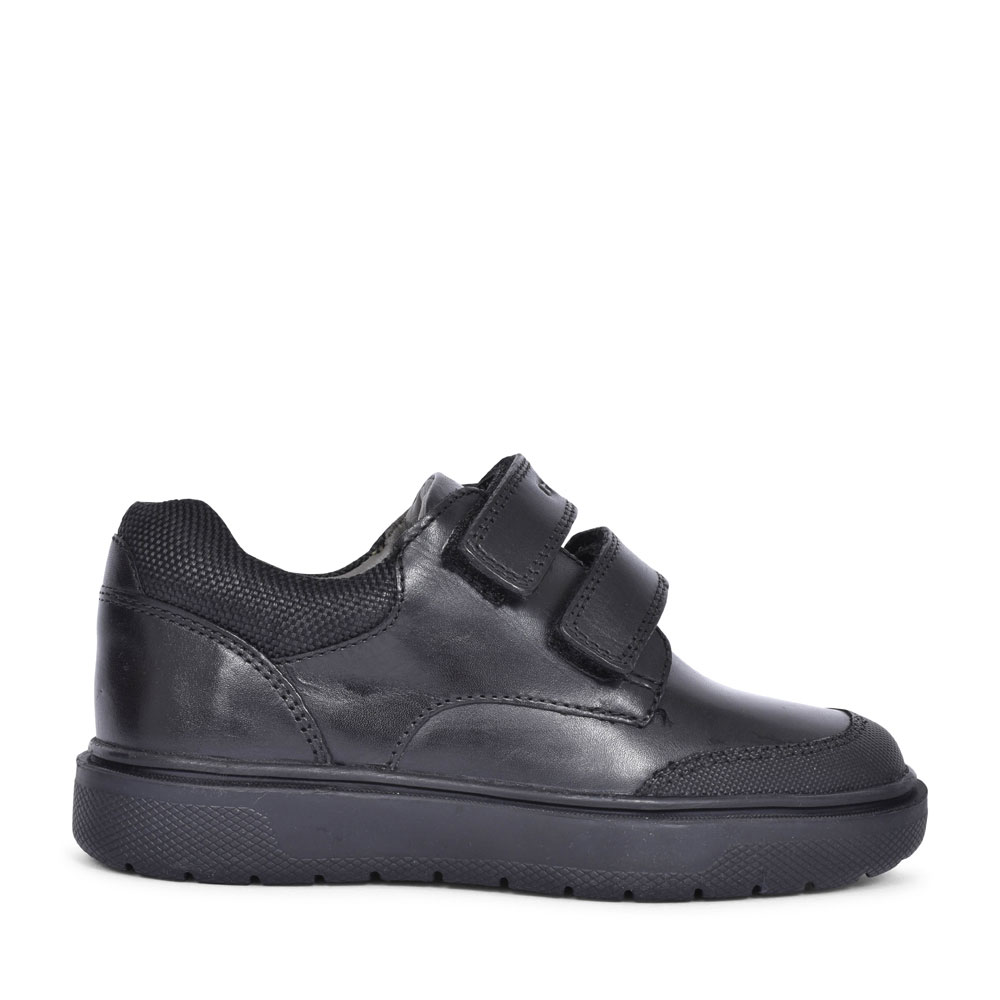 J847SF RIDDOCK VELCRO SHOE FOR BOYS in BLACK