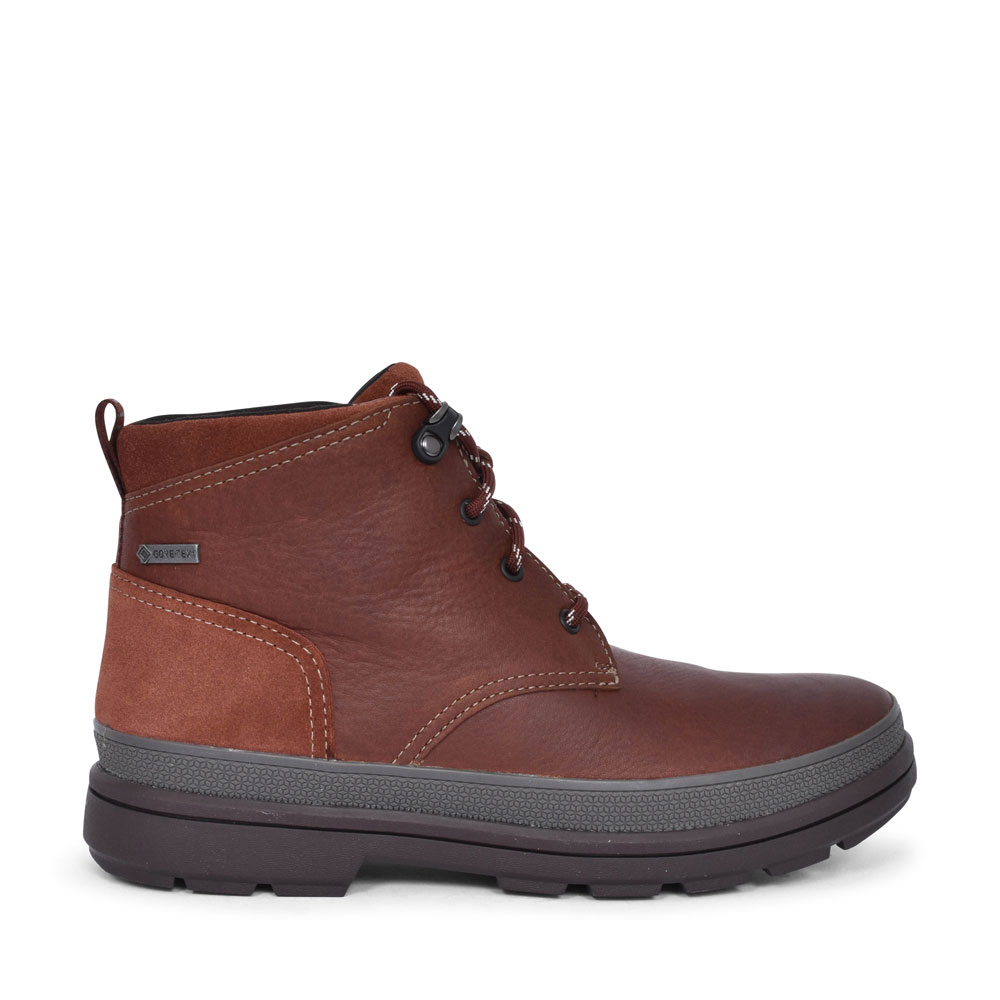 RUSHWAYMID GT LEATHER G FIT ANKLE BOOT FOR MEN in TAN