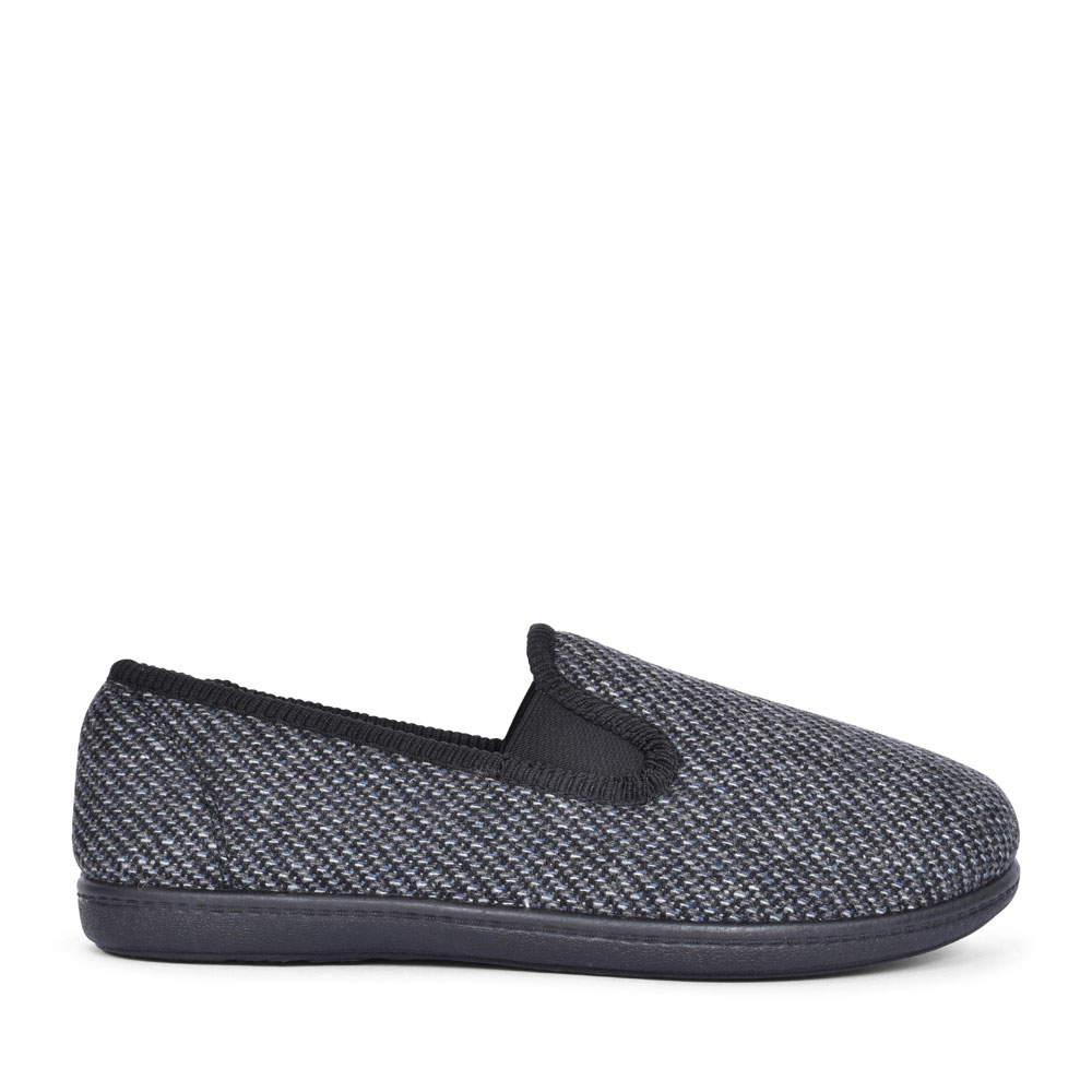 KING TWIN TEXTILE G FIT SLIPPER FOR MEN in GREY