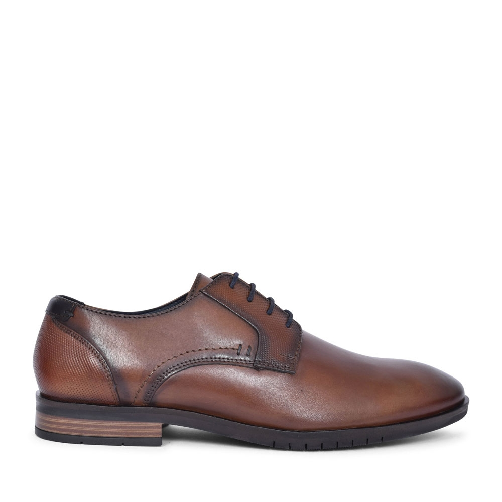5-13205 LACED OXFORD SHOE FOR MEN in BROWN