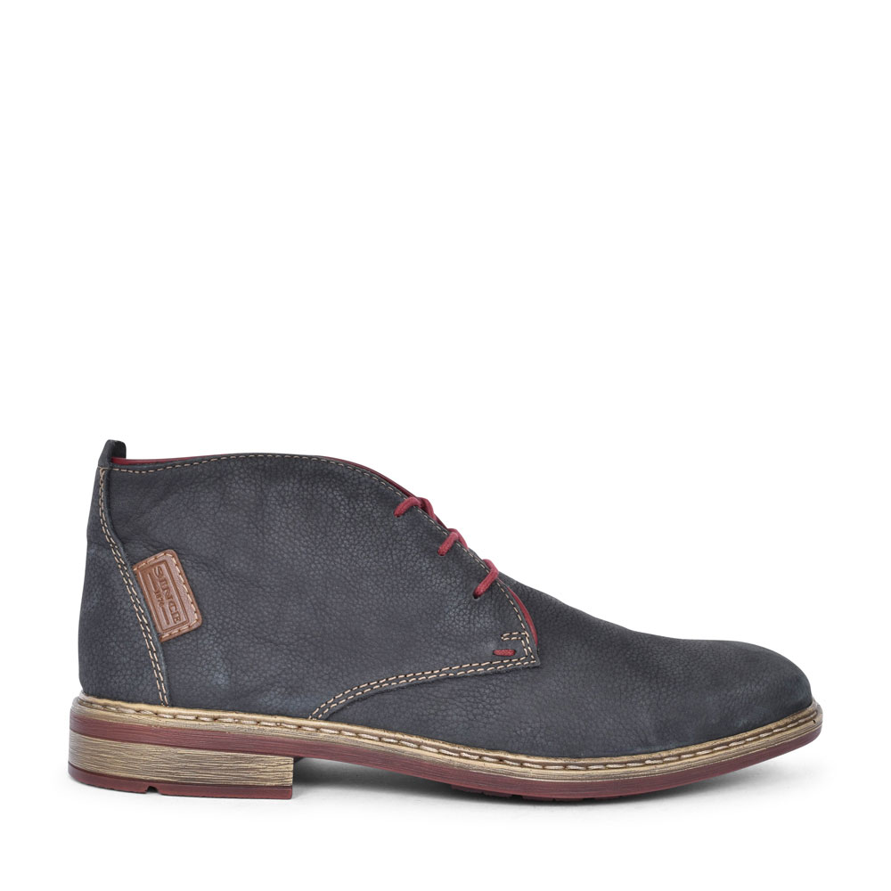 F1210 CASUAL LACED DESERT BOOT FOR MEN in NAVY