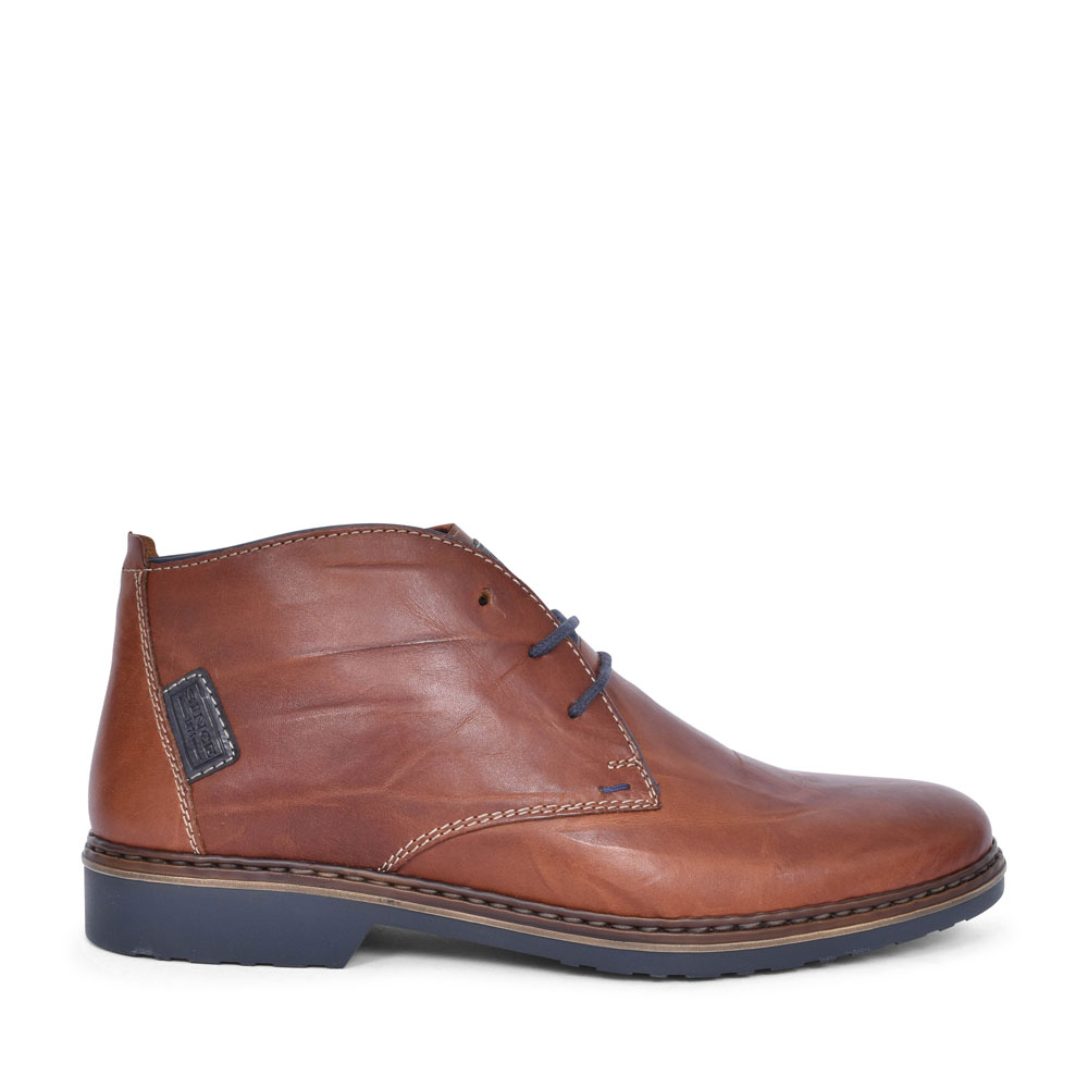 36510 CASUAL LACED DESERT BOOT FOR MEN in BROWN