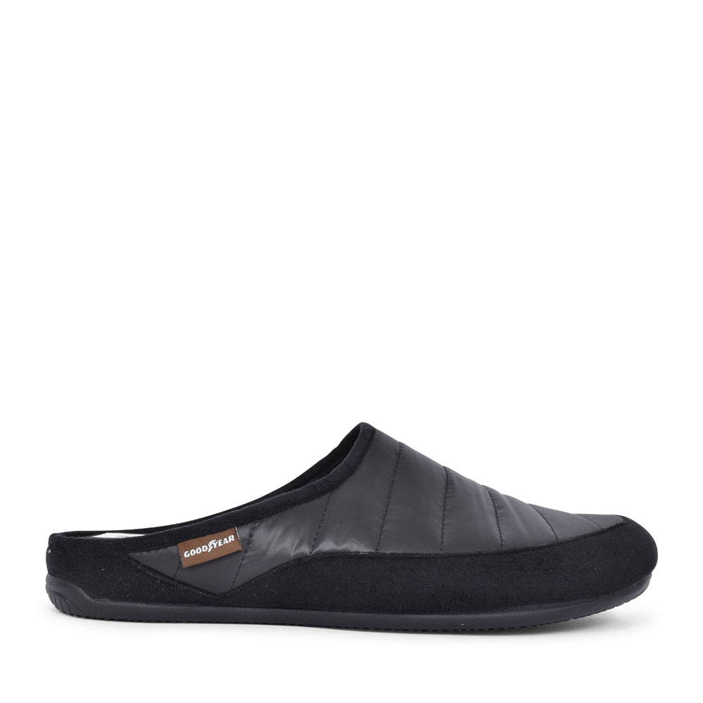 LOGIC KMG026 MULE SLIPPER FOR MEN in BLACK