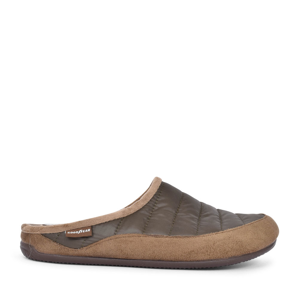LOGIC KMG026 MULE SLIPPER FOR MEN in KHAKI
