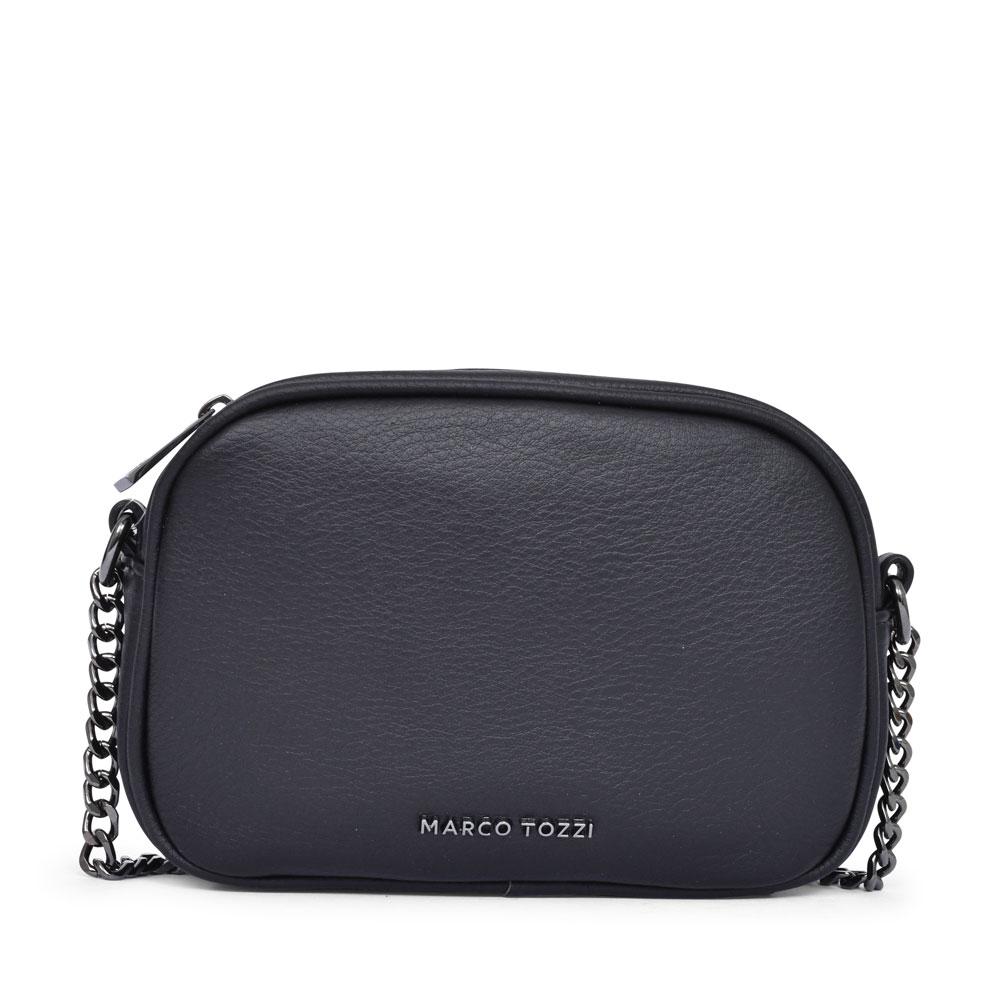 LADIES 2-61107 CASUAL CROSSBODY BAG in BLACK