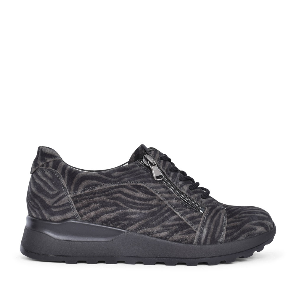 364023 HIROKO LACED TRAINER FOR LADIES in ANIMAL
