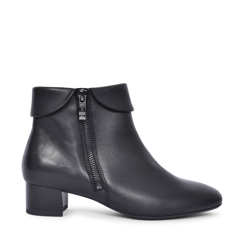 12-16609 VICENZA LOW HEEL ANKLE BOOT FOR LADIES in BLACK