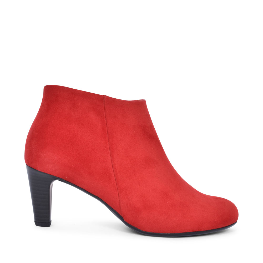 FATALE 35.850 HIGH HEEL LOW ANKLE BOOT FOR LADIES in RED