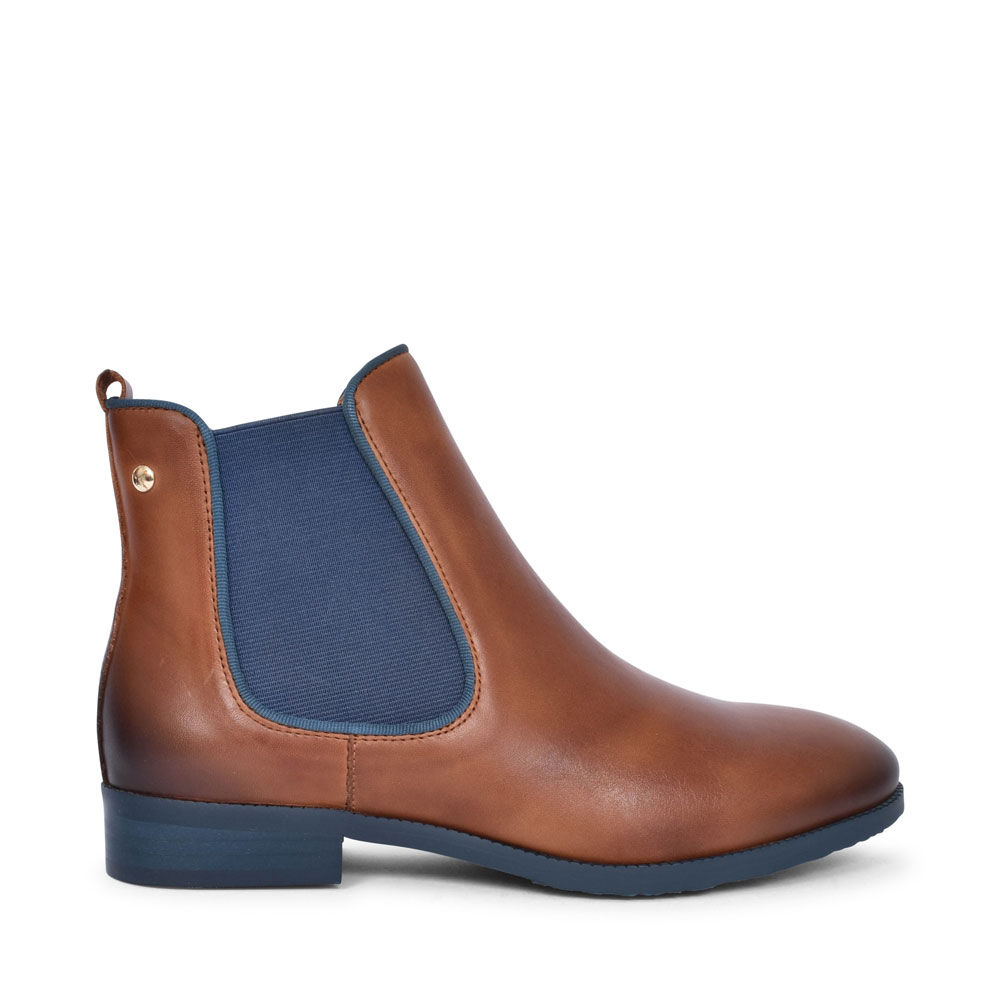 ROYAL W4D-8637ST CHELSEA BOOT FOR LADIES in BROWN