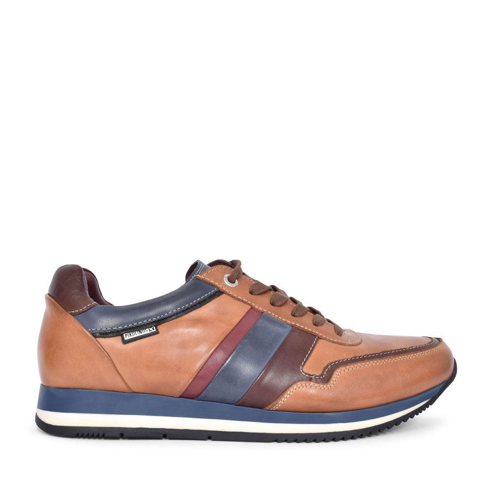 PALERMO M3H-6215 CASUAL LACED TRAINER FOR MEN in TAN