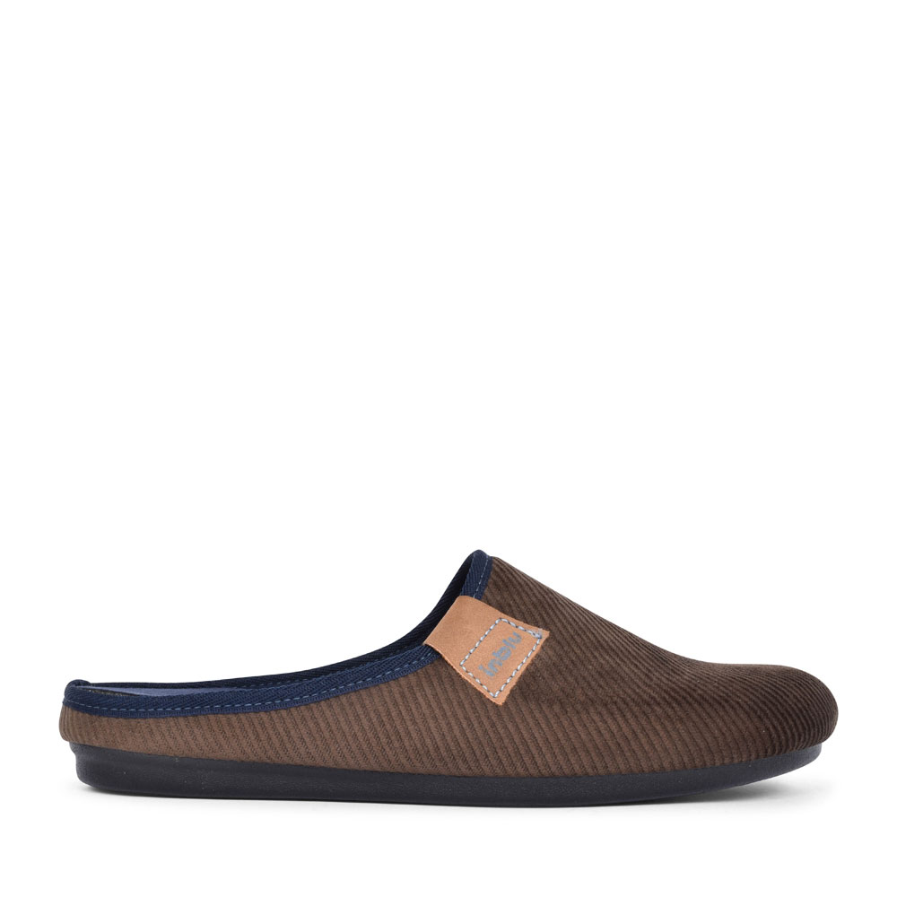 RP000016 MULE SLIPPER FOR MEN in BROWN
