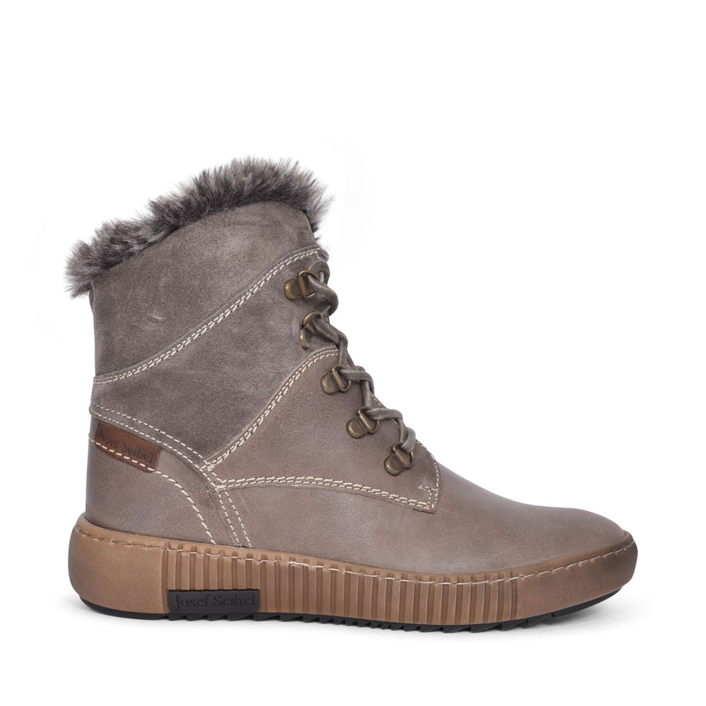 84613 MAREN LACED ANKLE BOOT FOR LADIES in GREY