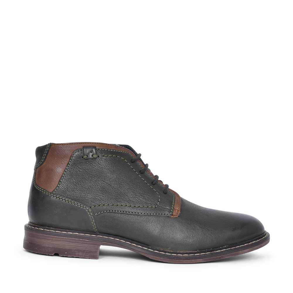 25404 EARL LACED ANKLE BOOT FOR MEN in OLIVE