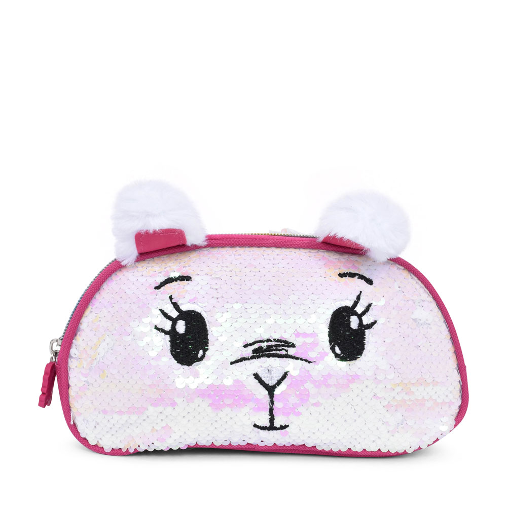 35F058 SEQUENCE PENCIL CASE FOR GIRLS in PINK