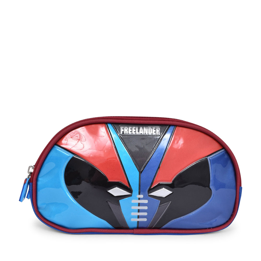 35F059 HERO PENCIL CASE FOR BOYS in BLUE