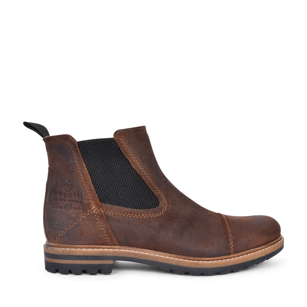 81562 CASUAL CHELSEA ANKLE BOOT FOR MEN in BROWN