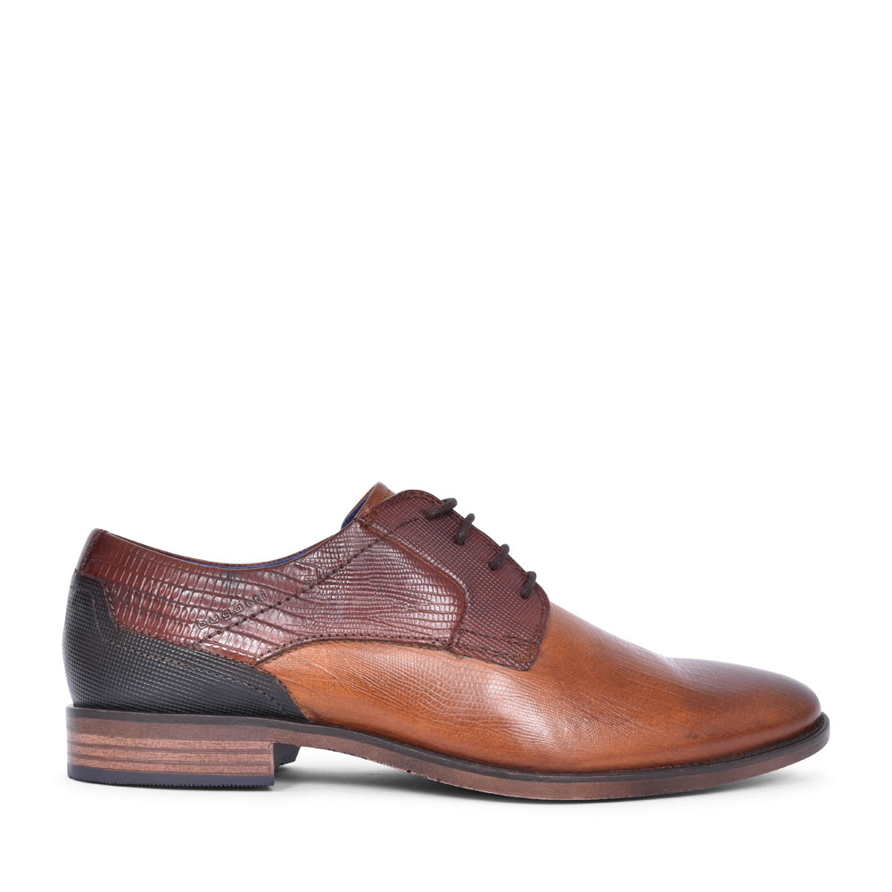 16413 FORMAL LACED SHOE FOR MEN in TAN