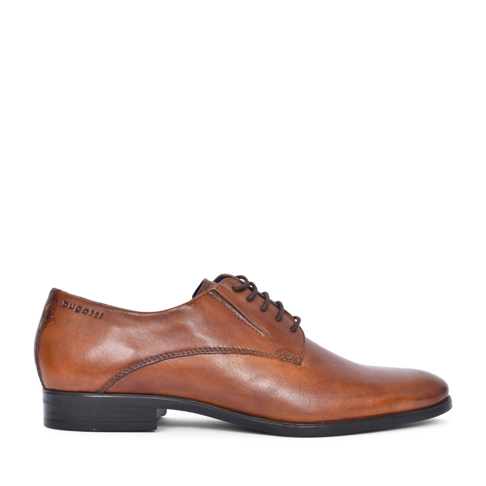 44606 CASUAL LACED SHOE FOR MEN in TAN