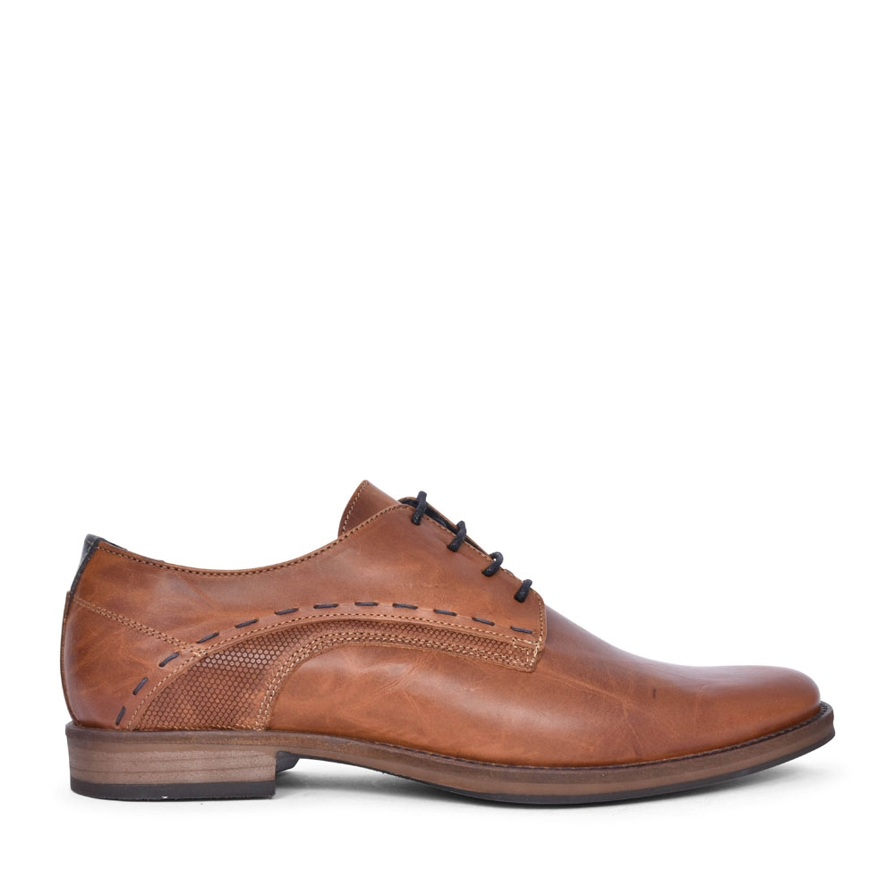 FANUL CASUAL LACED SHOE FOR MEN in TAN