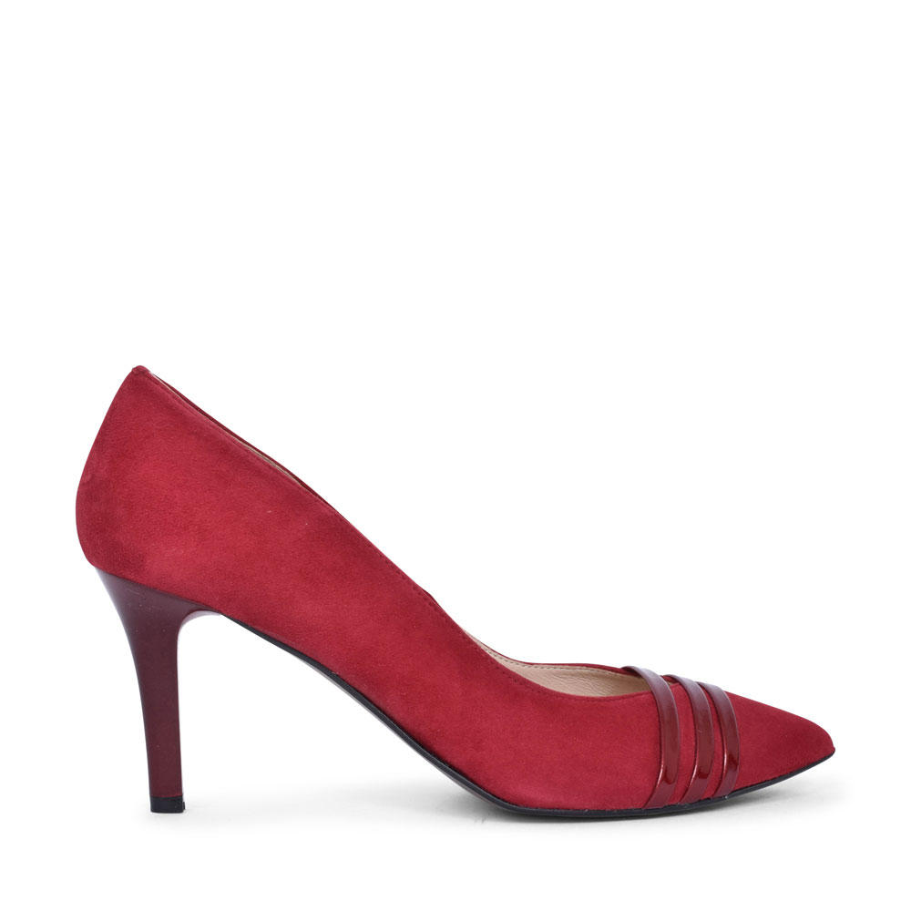 7380 HIGH HEEL COURT SHOE FOR LADIES in RED