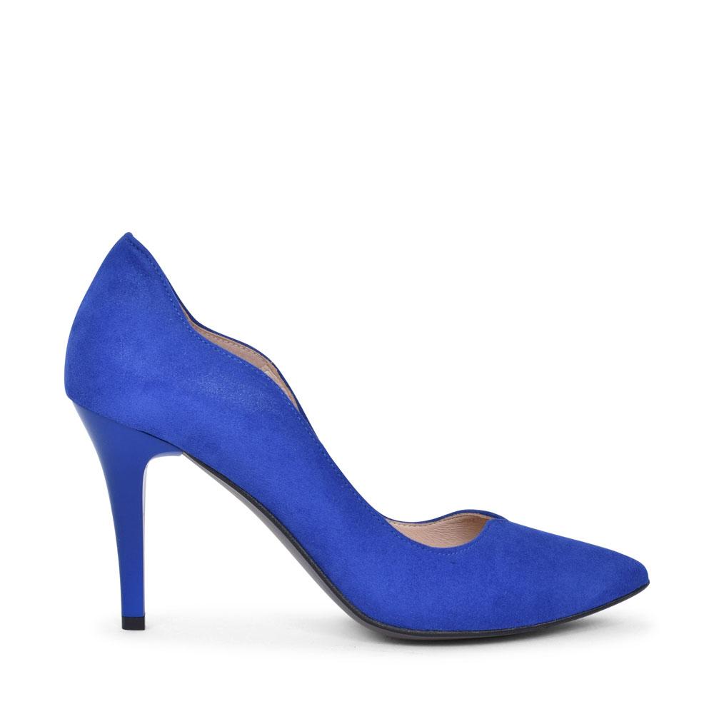 7053 HIGH HEEL COURT SHOE FOR LADIES in BLUE