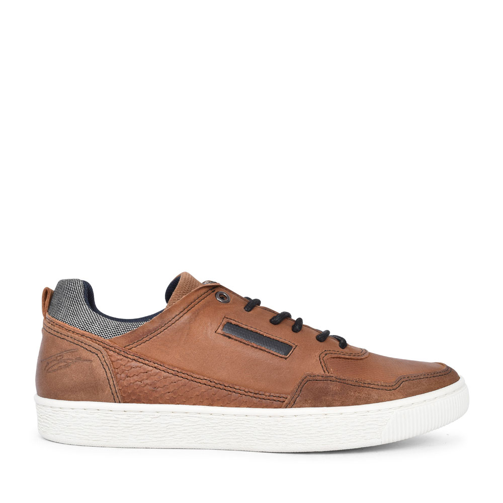 ZEBO CASUAL LACED SHOE FOR MEN in BROWN