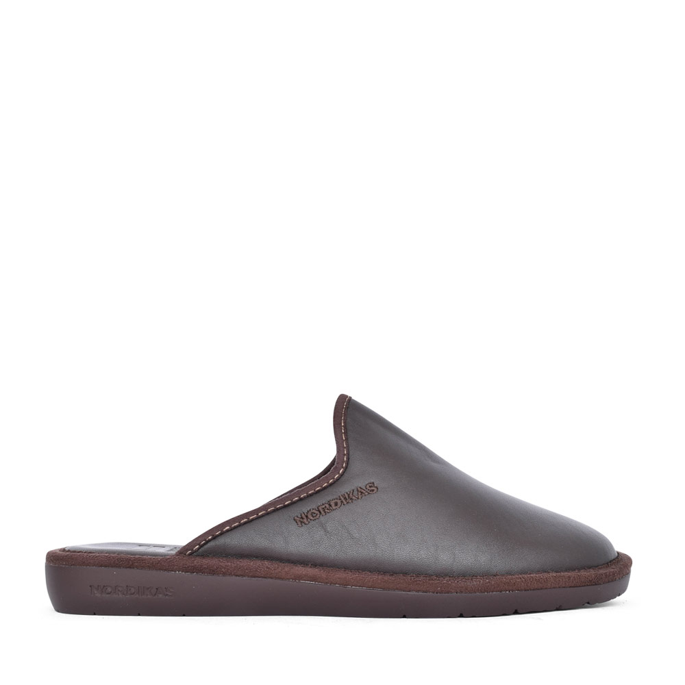 MENS 131 MULE SLIPPER  in BROWN