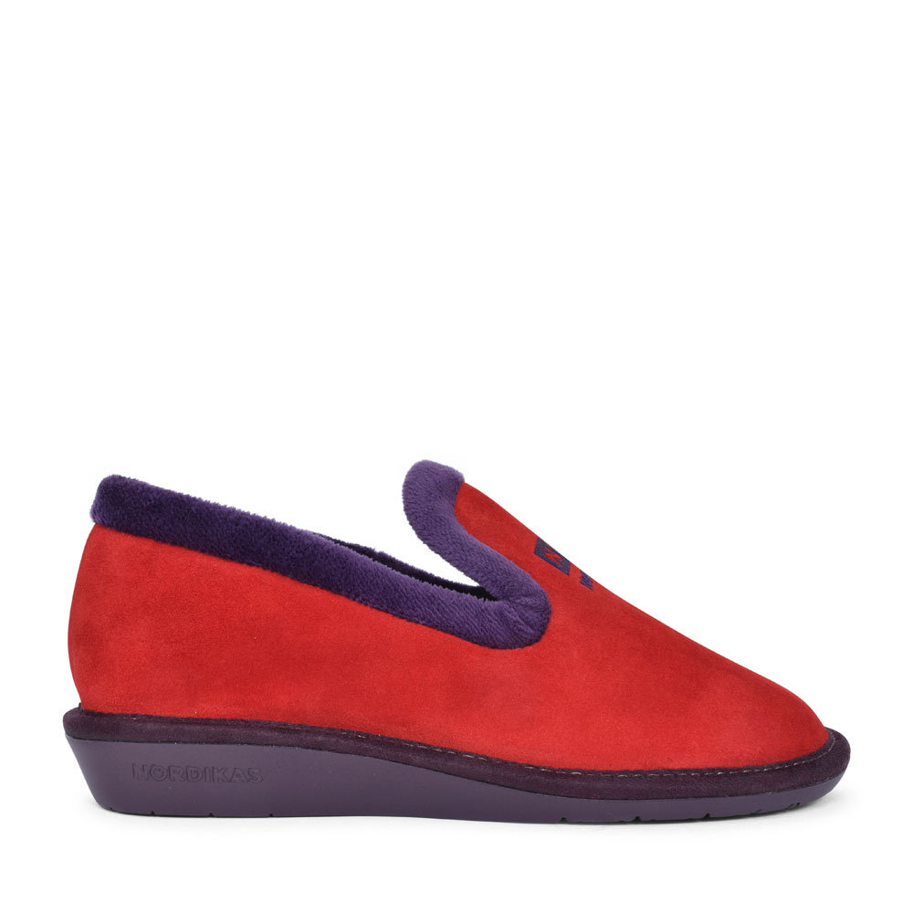 305 CASUAL SLIPPER FOR LADIES in RED