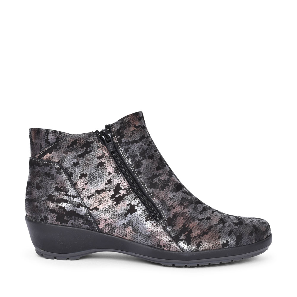 QUINN WEDGE ANKLE BOOT FOR LADIES in GREY