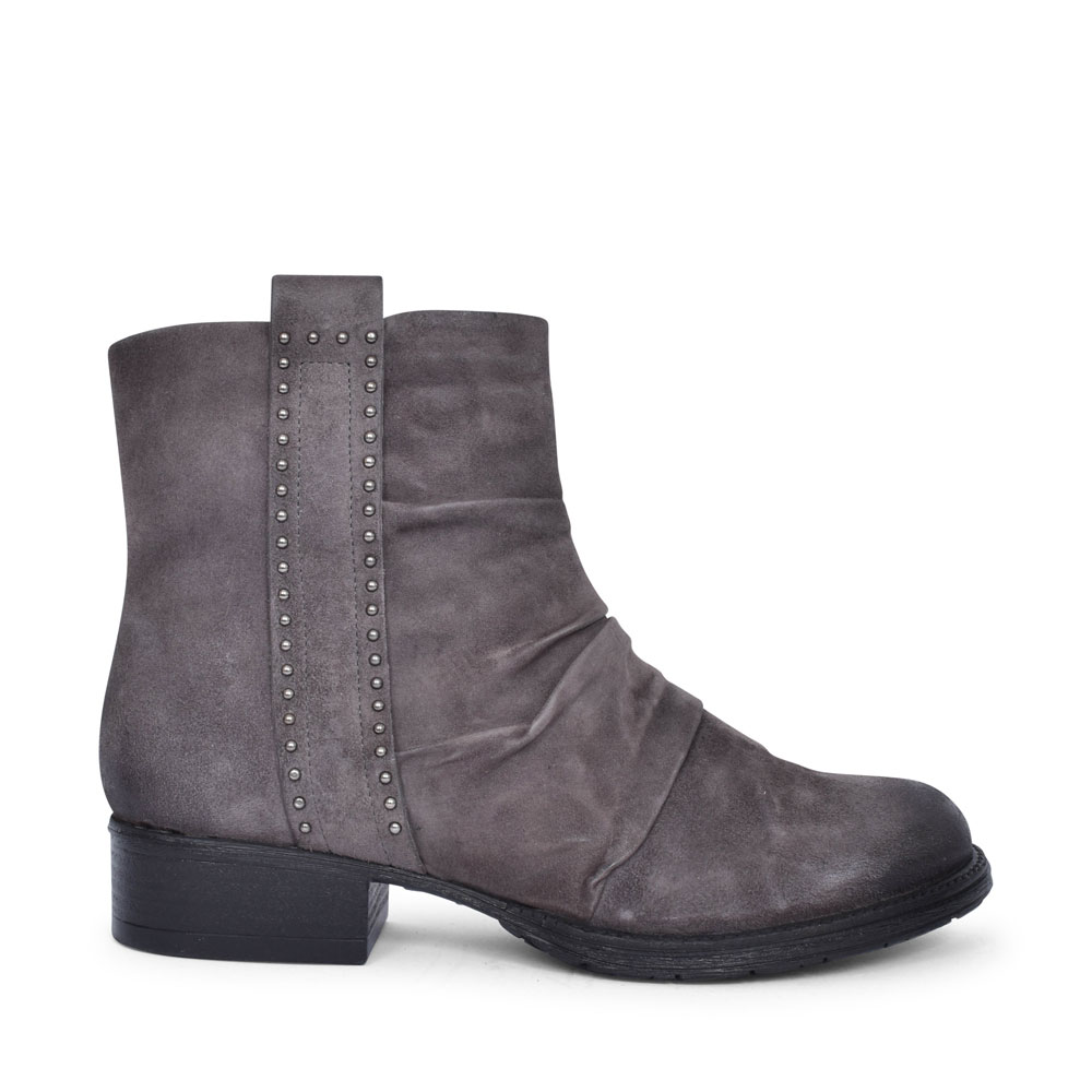 177205 LOW HEEL ANKLE BOOT FOR LADIES in GREY