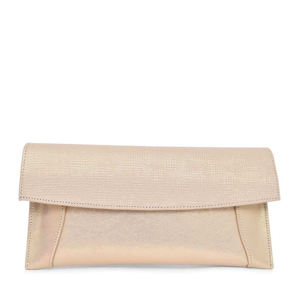 LADIES 7411 CLUTCH BAG  in GOLD