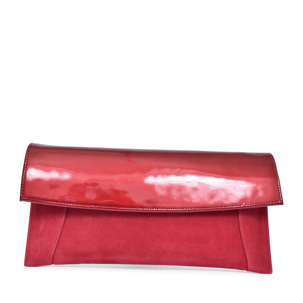 LADIES 7380 CLUTCH BAG  in RED