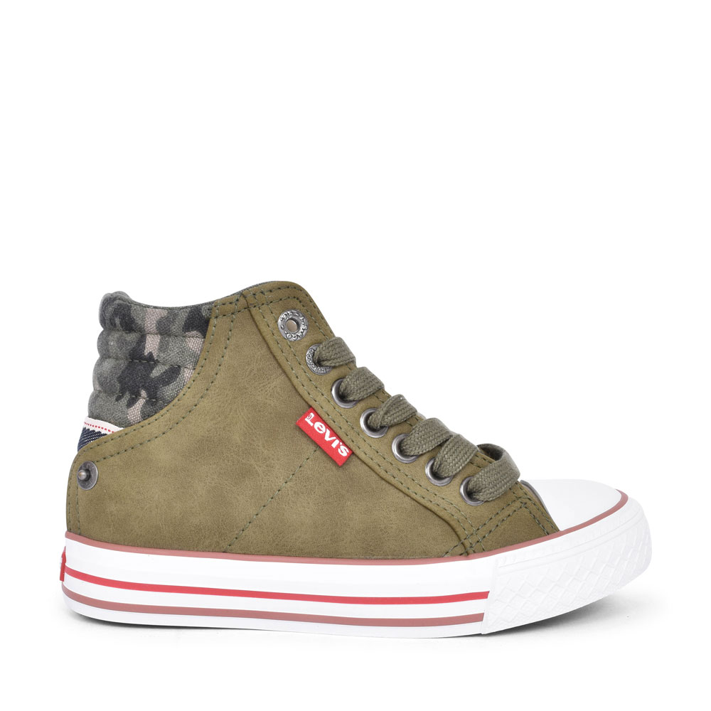 NEW YORK CASUAL HIGH TOP BOOT FOR BOYS in KHAKI