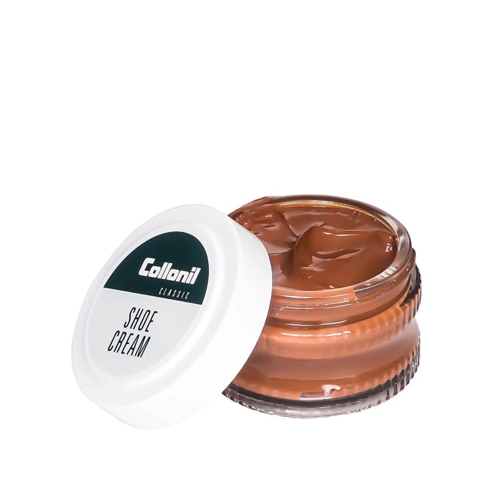 COLLONIL SHOE CREAM 50ML JAR in LIGHT BROWN