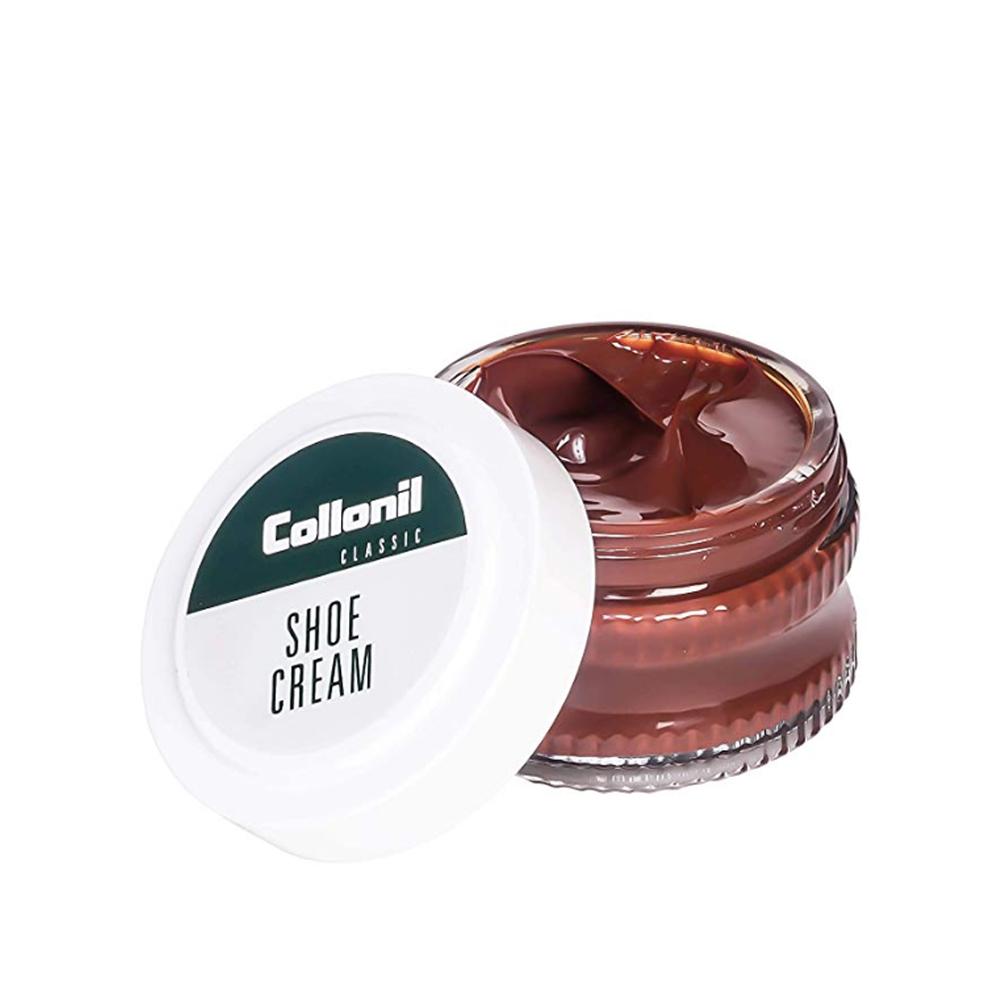 COLLONIL SHOE CREAM 50ML JAR in MEDIUM BROWN