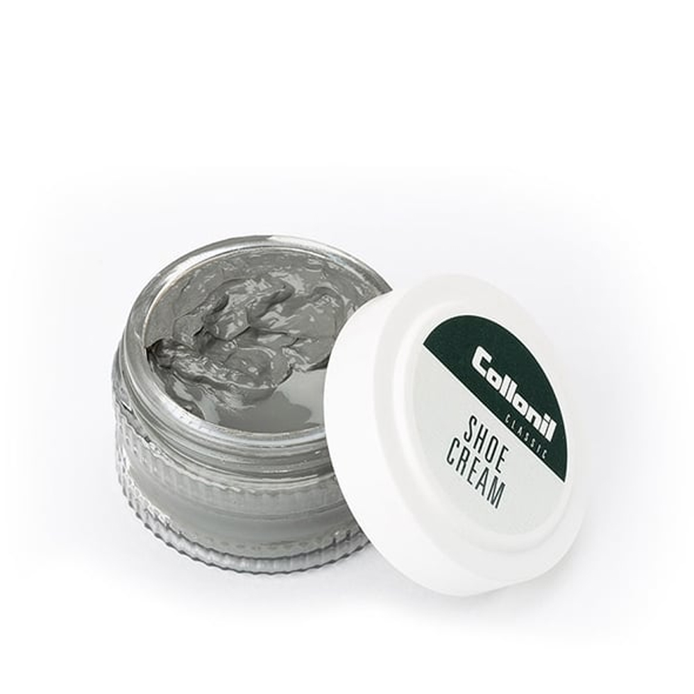 COLLONIL SHOE CREAM 50ML JAR in MEDIUM GREY