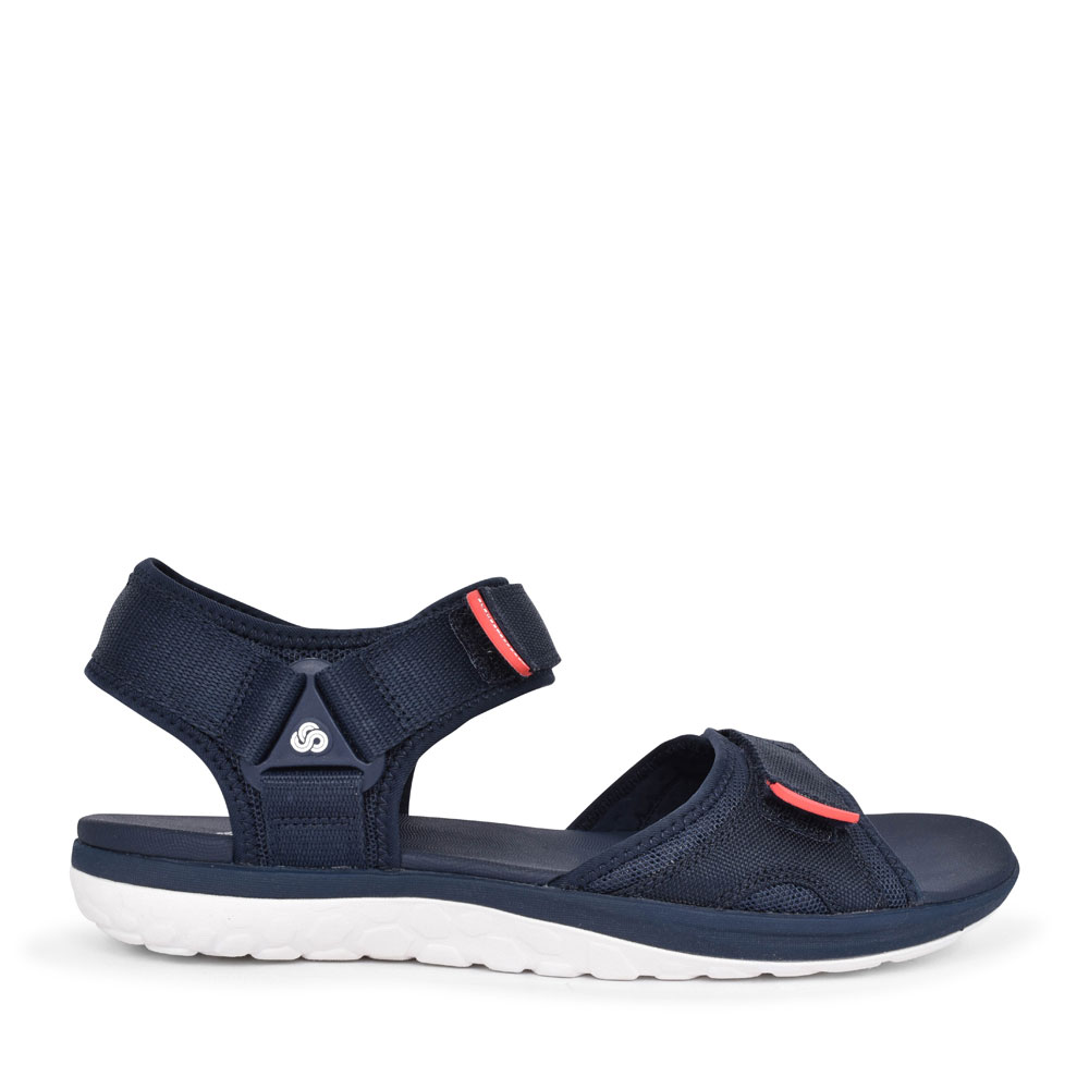 MEN'S STEP BEAT SUN TEXTILE G FIT VELCRO SANDAL in NAVY