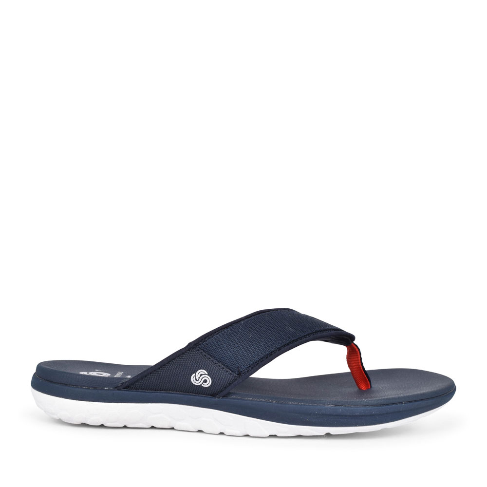 STEP BEAT SUN TEXTILE G FIT FITFLOP FOR MEN in NAVY