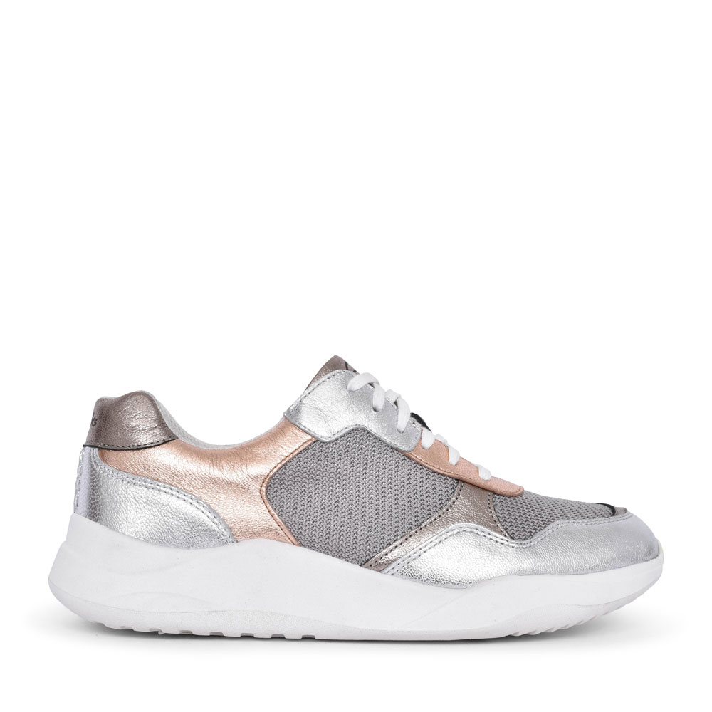SIFT LACE SUEDE D FIT LACED TRAINER FOR LADIES in ROSE