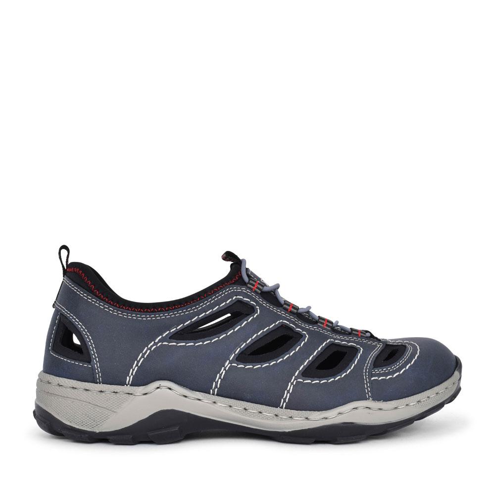 MEN'S 08065 SLIP ON WALKING SHOE in NAVY