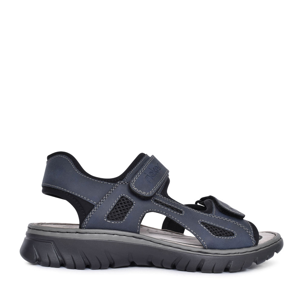 MEN'S 26761 VELCRO WALKING SANDAL in NAVY