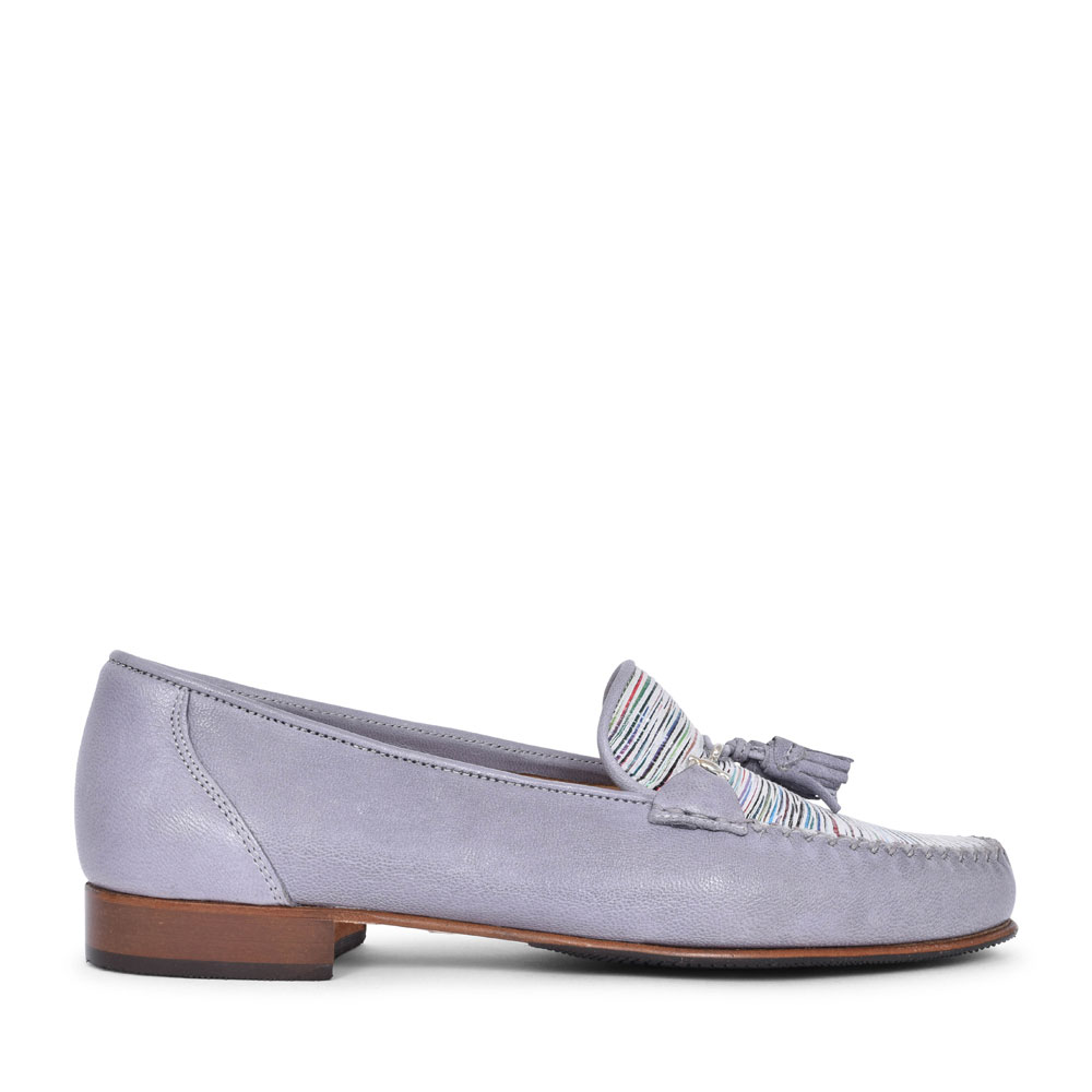 LADIES 883-229 LEATHER LOAFER SHOE  in MULTI-COLOUR