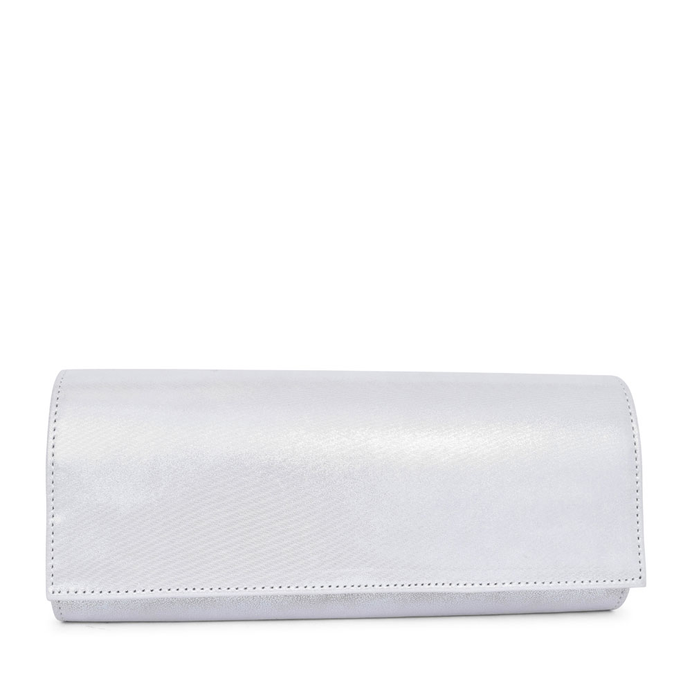 LADIES T1 MIX CLUTCH BAG  in WHITE