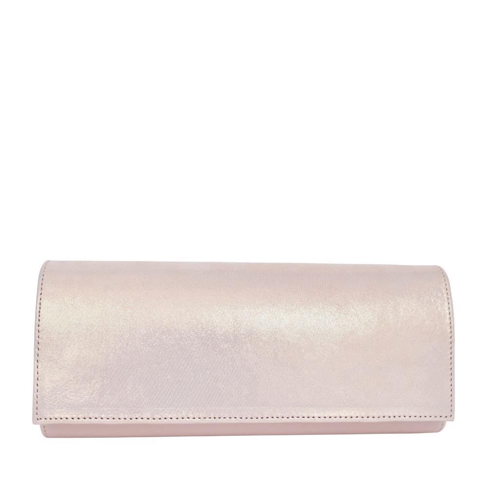 LADIES T1 MIX CLUTCH BAG  in ROSE