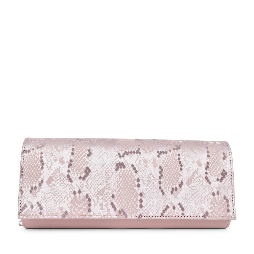 LADIES T1 MIX CLUTCH BAG  in LAVENDER