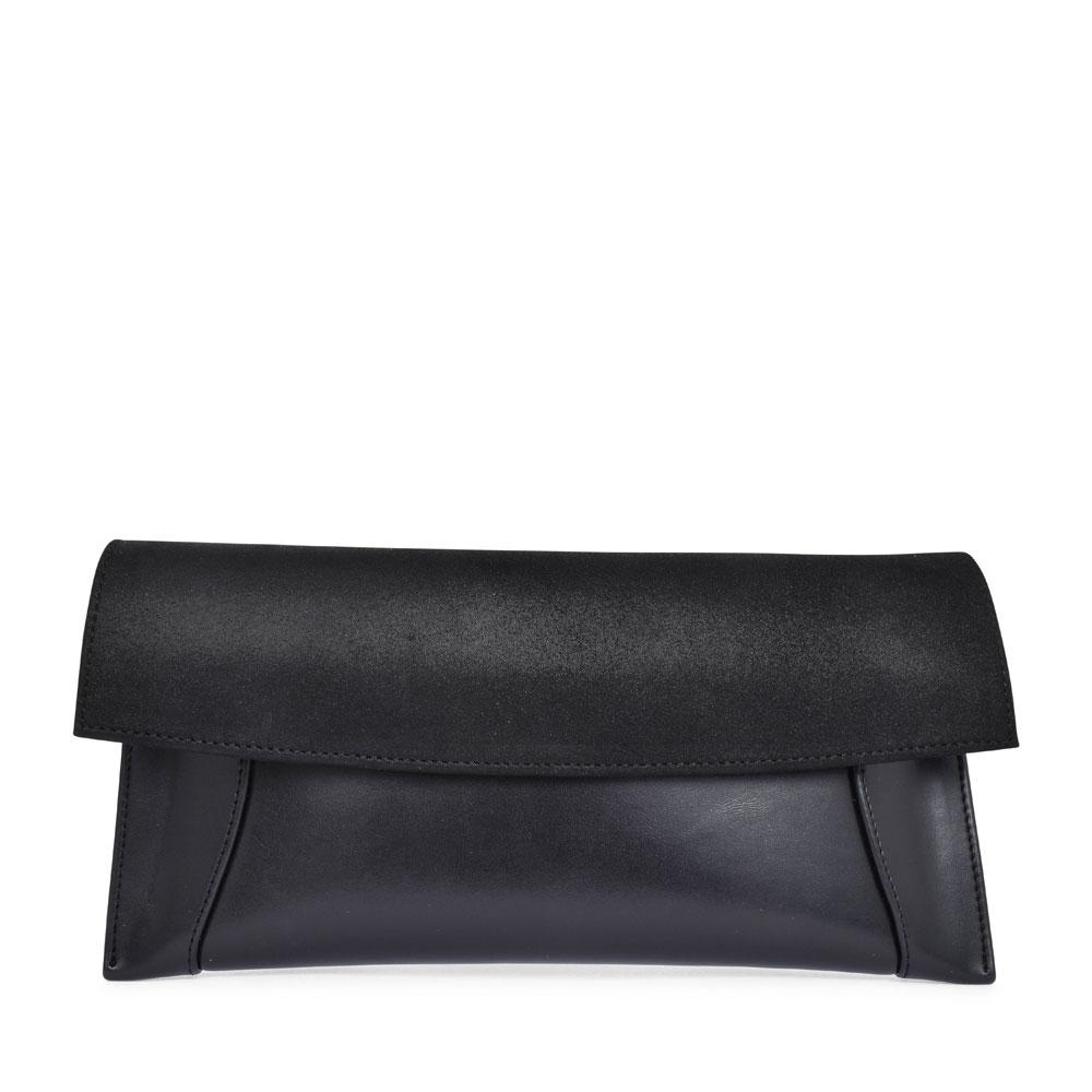 LADIES T11 MIX CLUTCH BAG in BLACK
