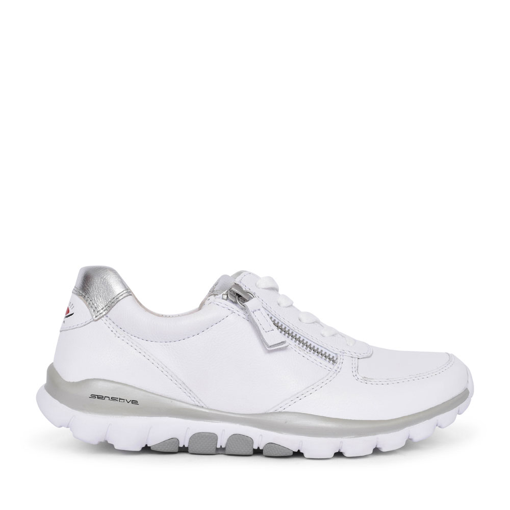 LADIES 46.968 ROLLING SOFT TRAINER in WHITE