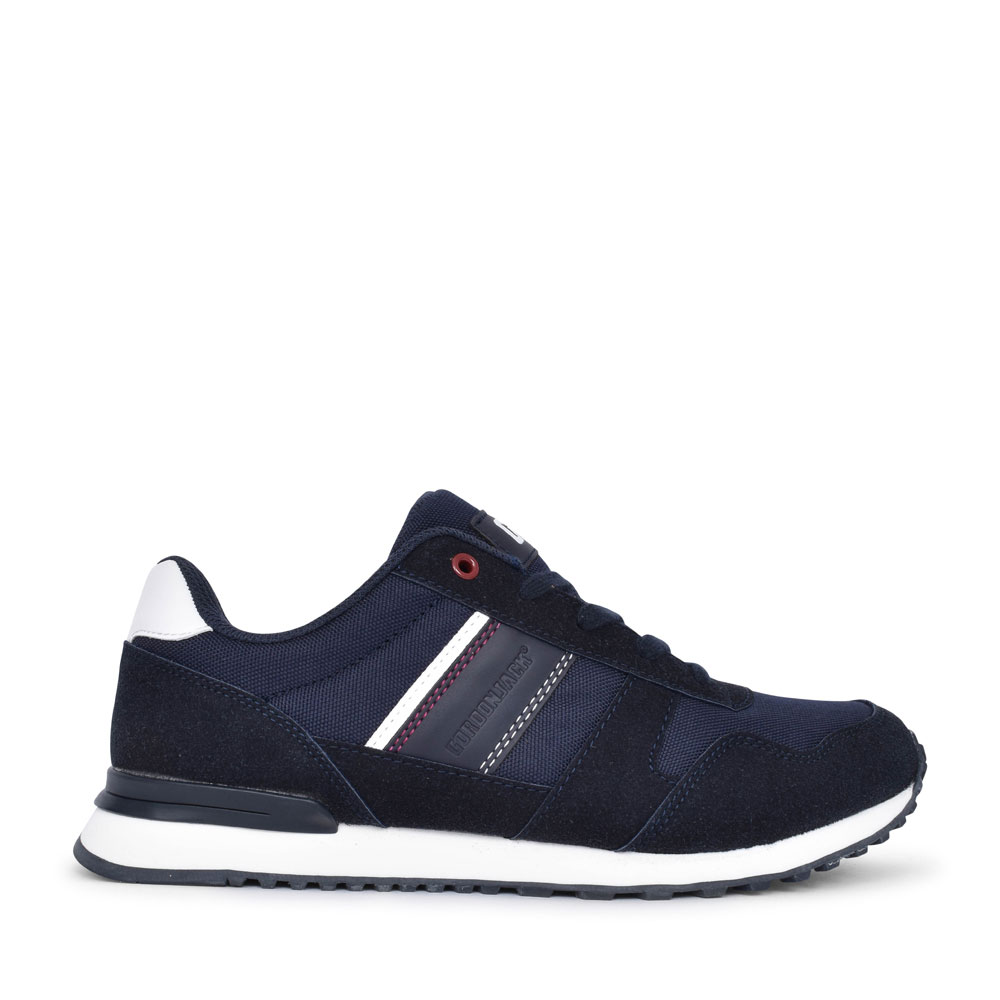 MEN'S QUEBEC CASUAL LACED TRAINER in NAVY