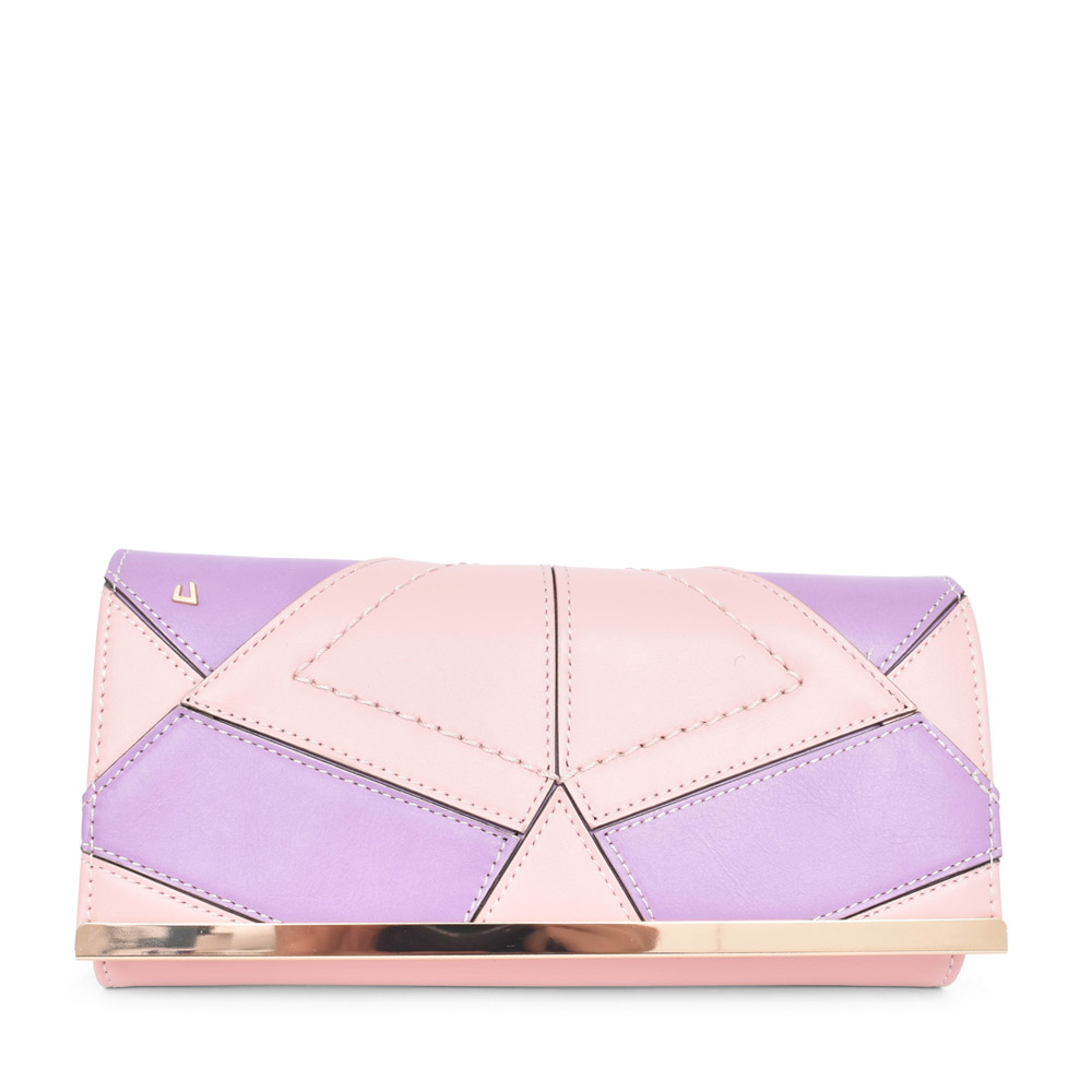 LADIES EL PASO CLUTCH BAG in PINK